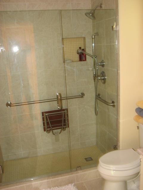 Aging In Place Design/Build Bathrooms in Austin