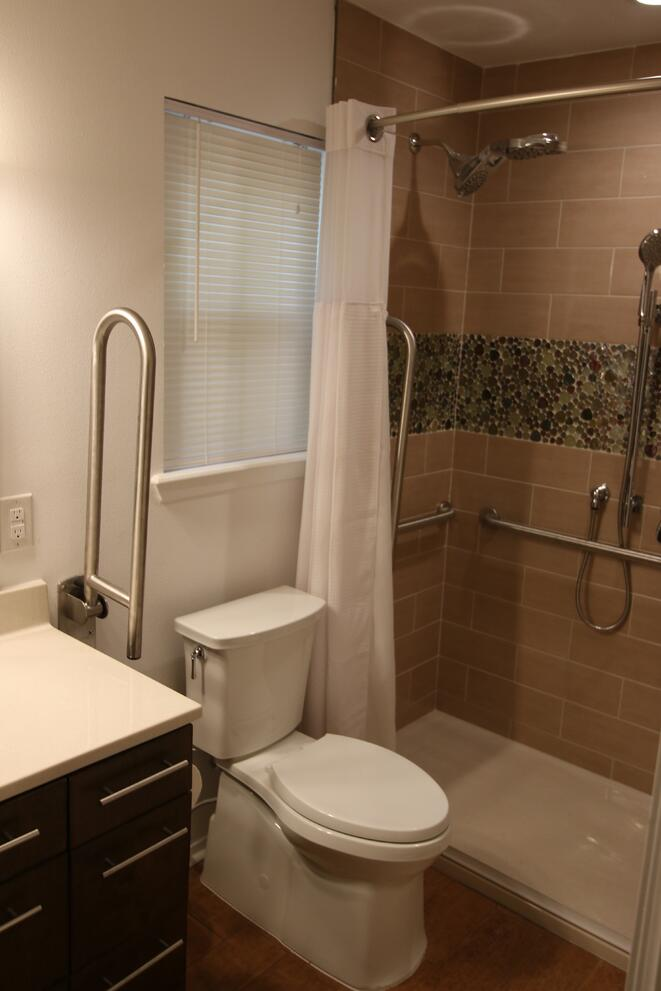Handicap Accessible Home Renovations Fascinating Austin Bathroom Remodeling Concept