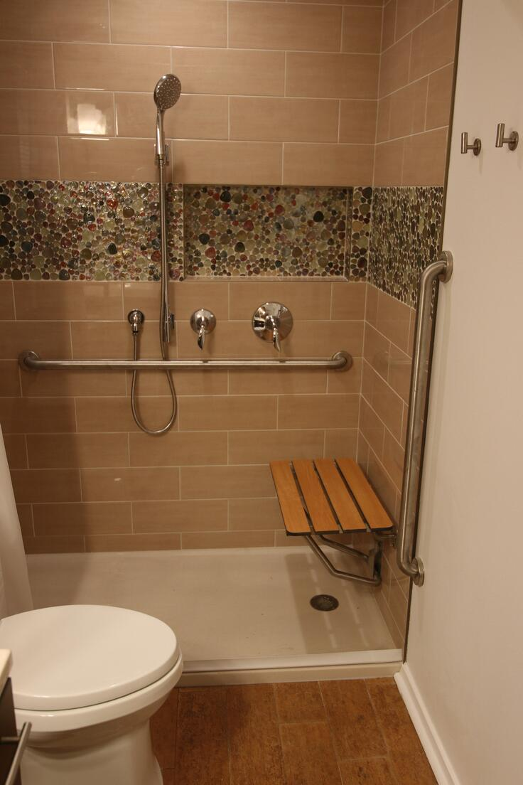 ADA Compatible Shower In Austin