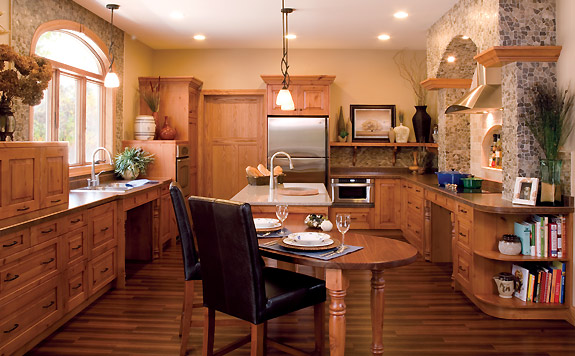 ADA Kitchen cabinetry