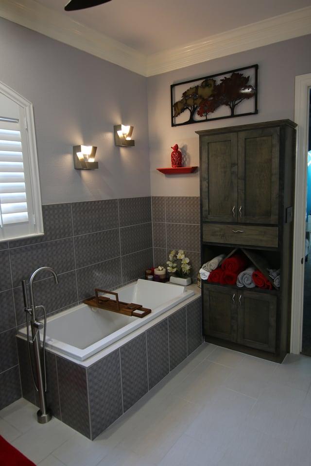 Austin bathroom remodel for Bathroom upgrades