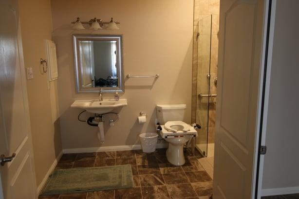 Wheelchair Accessible Bathroom In Austin