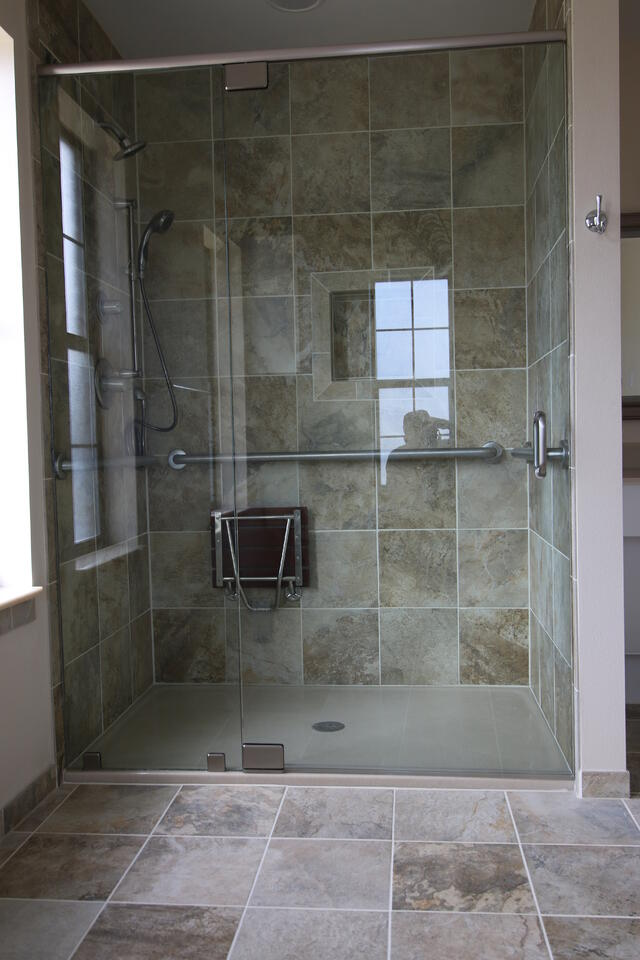 Wheelchair Accessible Shower in Austin