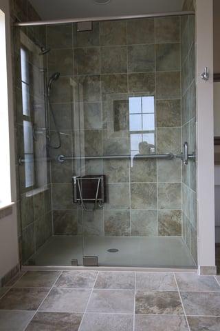 Austin Tub To Shower Conversion