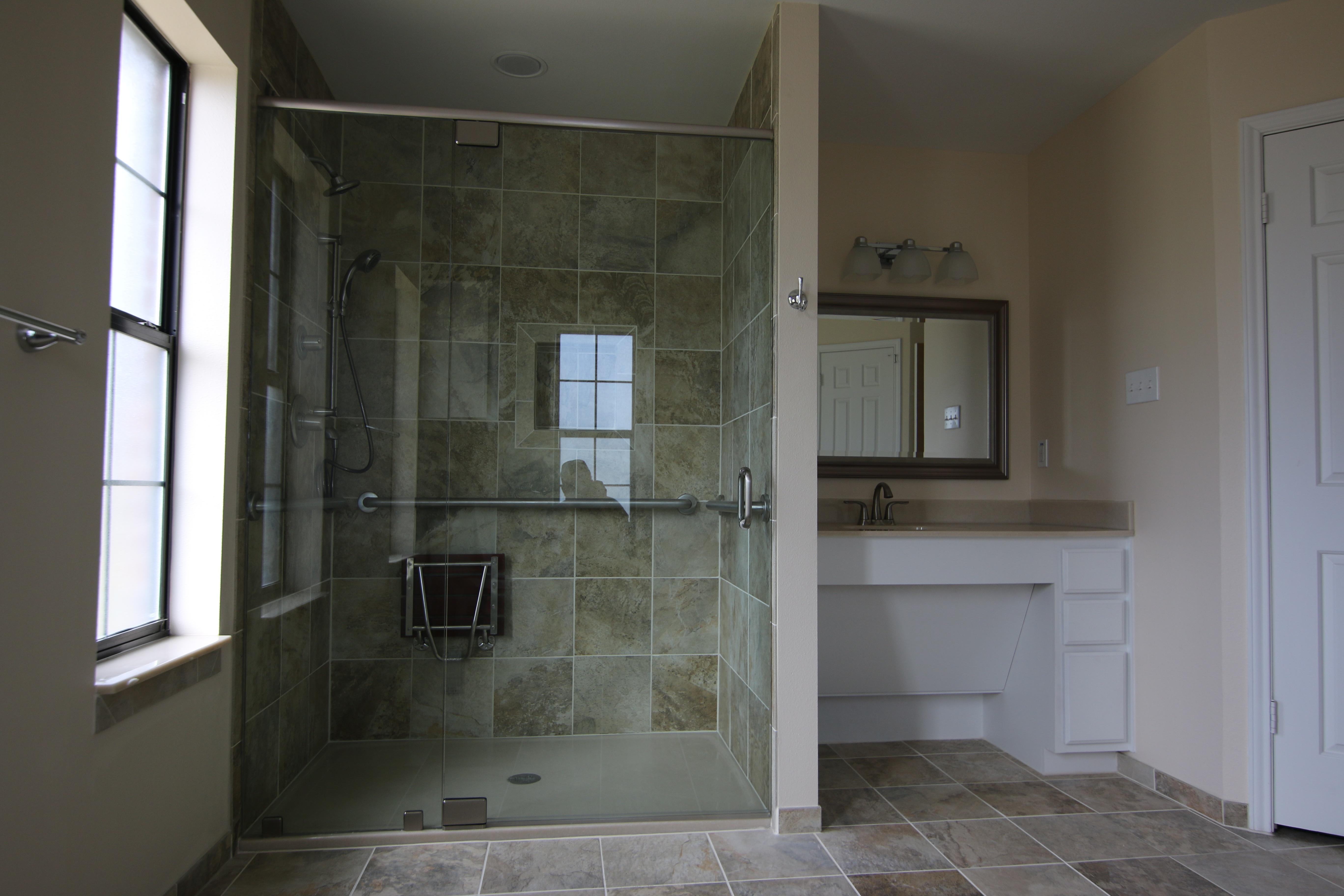 Disability Bathroom Remodels in Austin