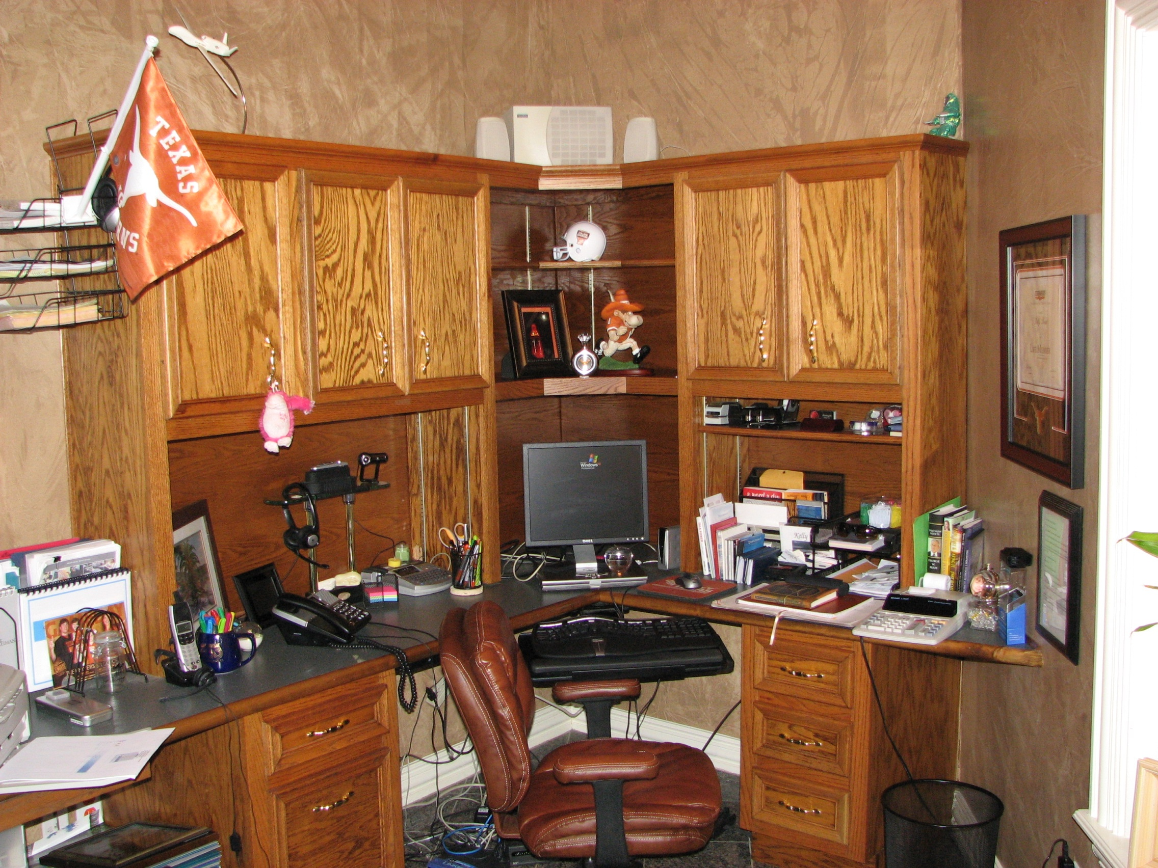 built in home office Texas