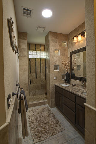 Custom tub to shower conversions in Austin