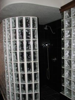Glass Block Shower Designs In Austin