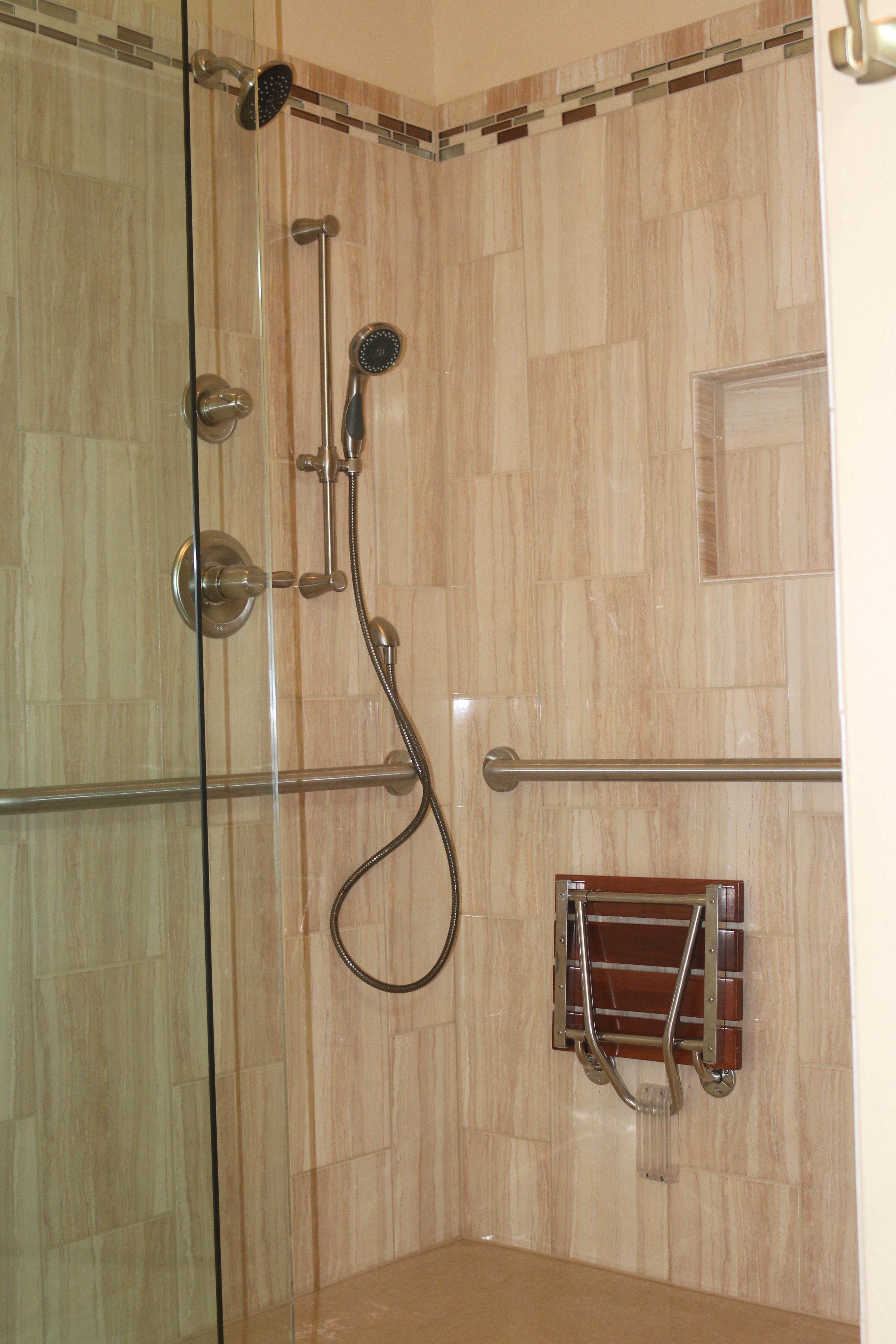 Roll In Shower Designs In Austin, Texas