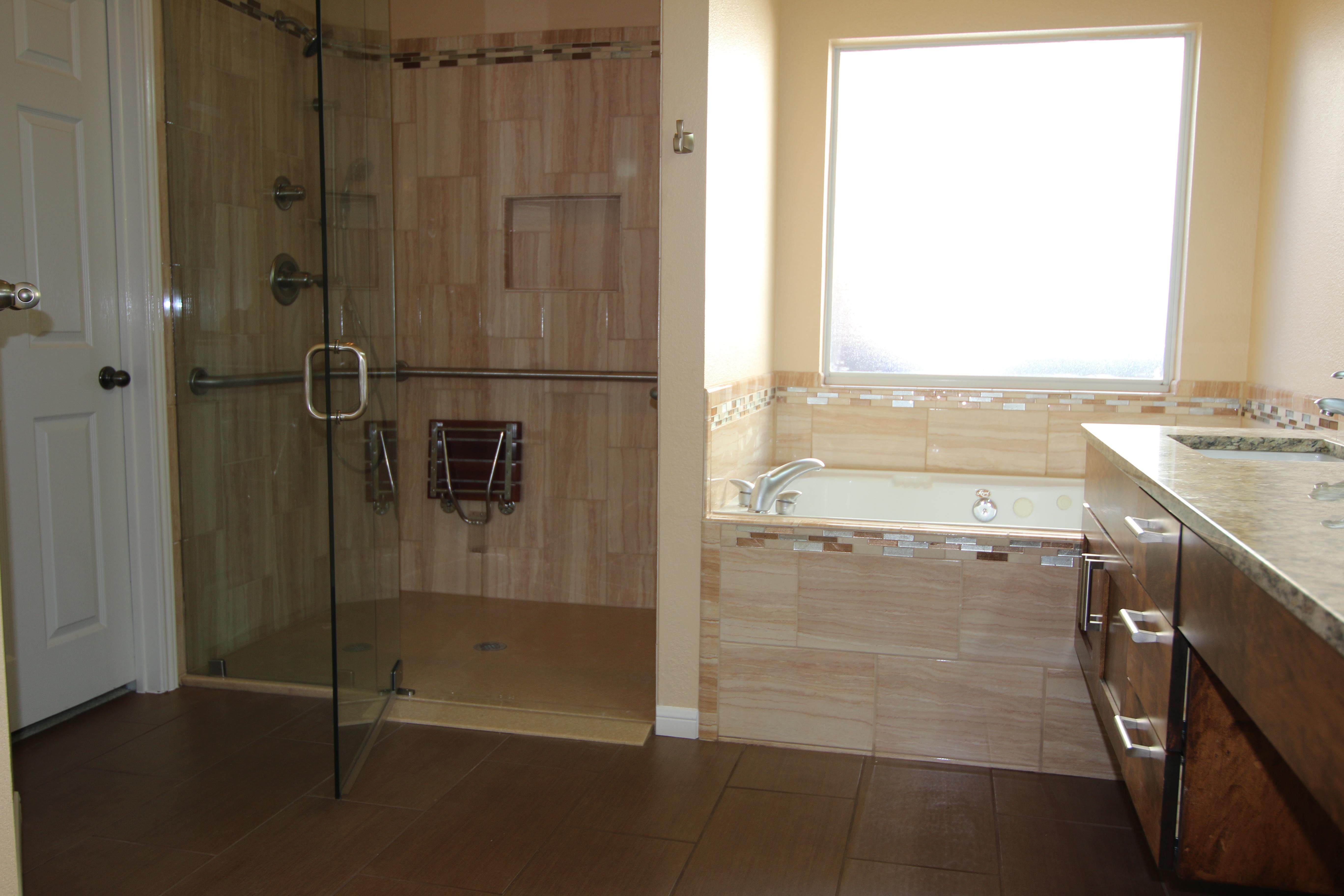 Disability Bathroom Remodels In Austin, Texas