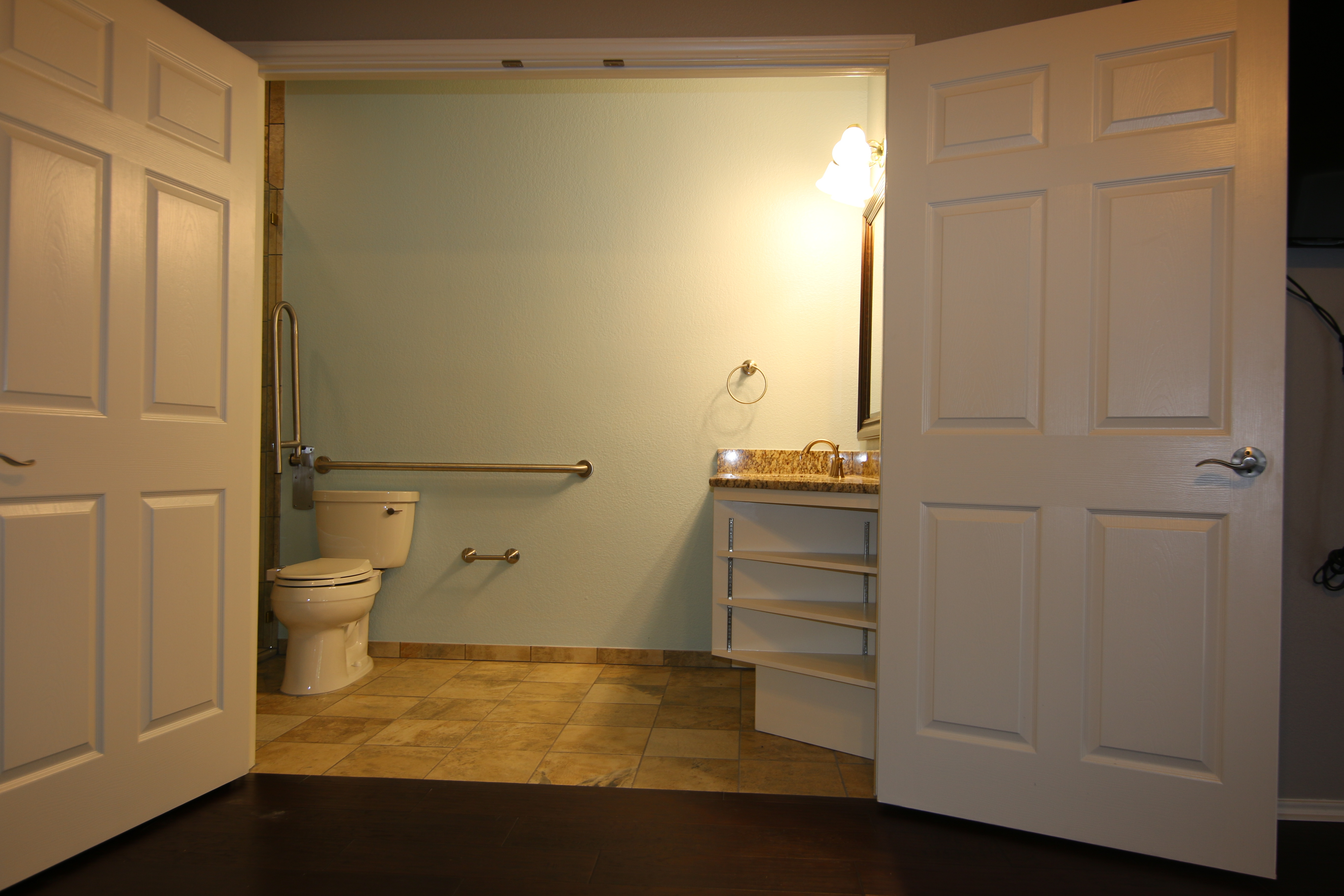 Wheelchair accessible home modifications in Austin, Texas
