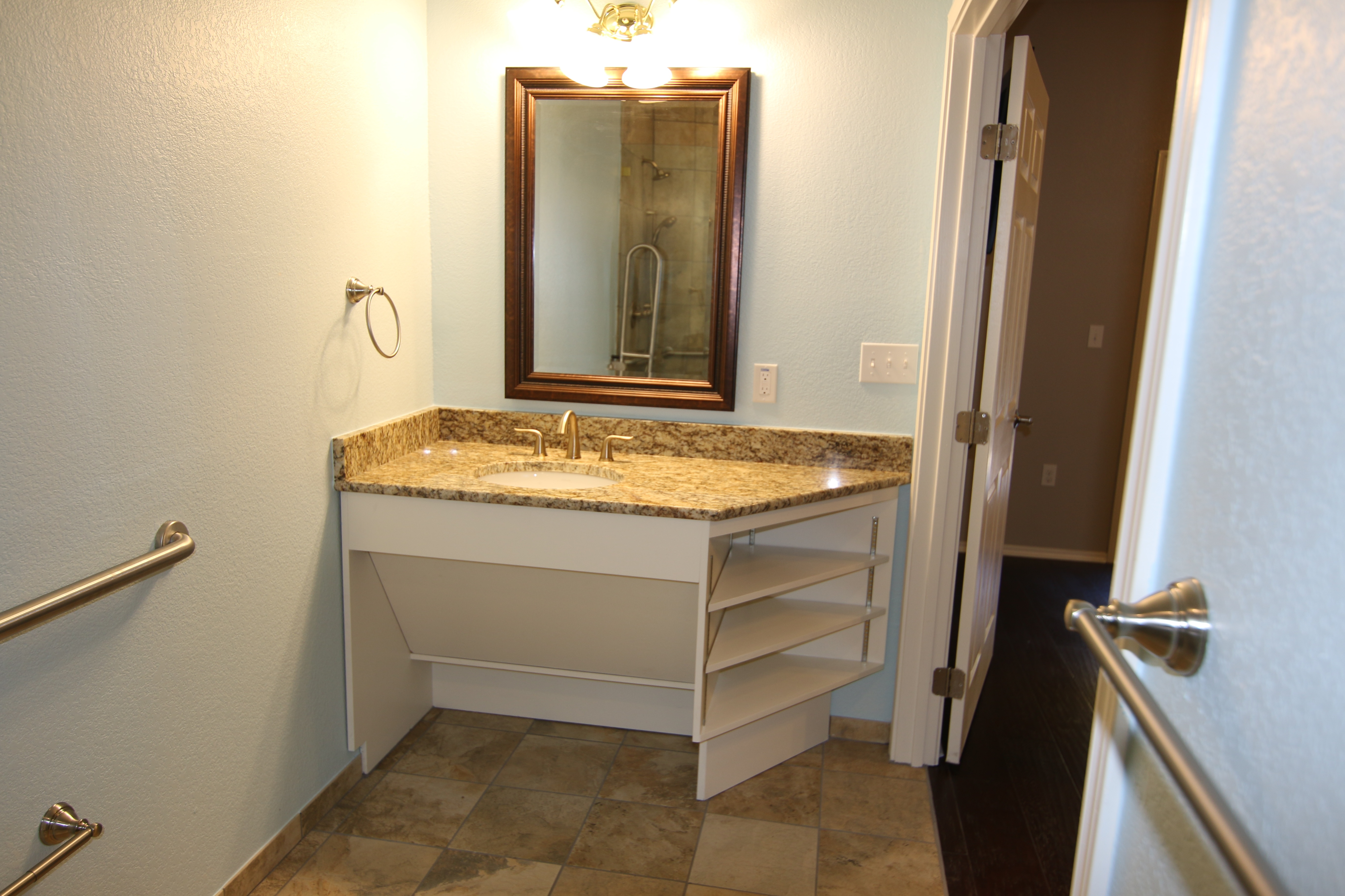 ADA Accessible cabinetry in Austin, Texas