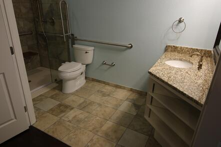 Wheelchair accessible remodeling in Austin, Texas