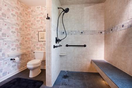 aging in place bathroom modifications in Austin