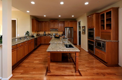 Aging in place kitchen design in Austin