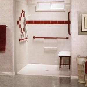 Austin roll in shower
