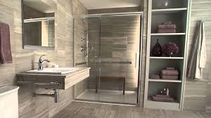 Austin wheelchair accessible roll in shower