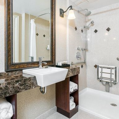 wheelchair accessible bathroom in Austin