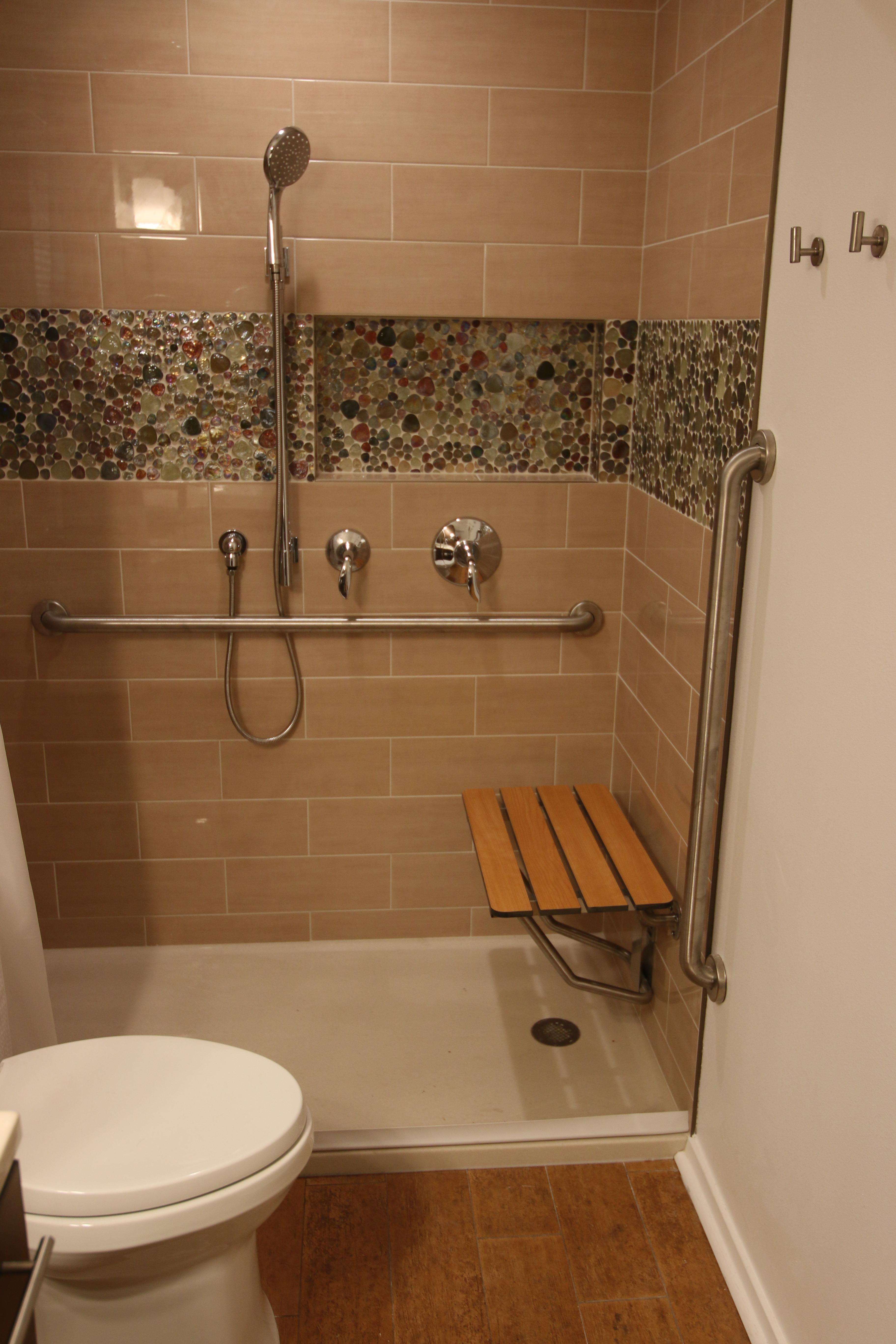 Ada Compliant Roll In Showers