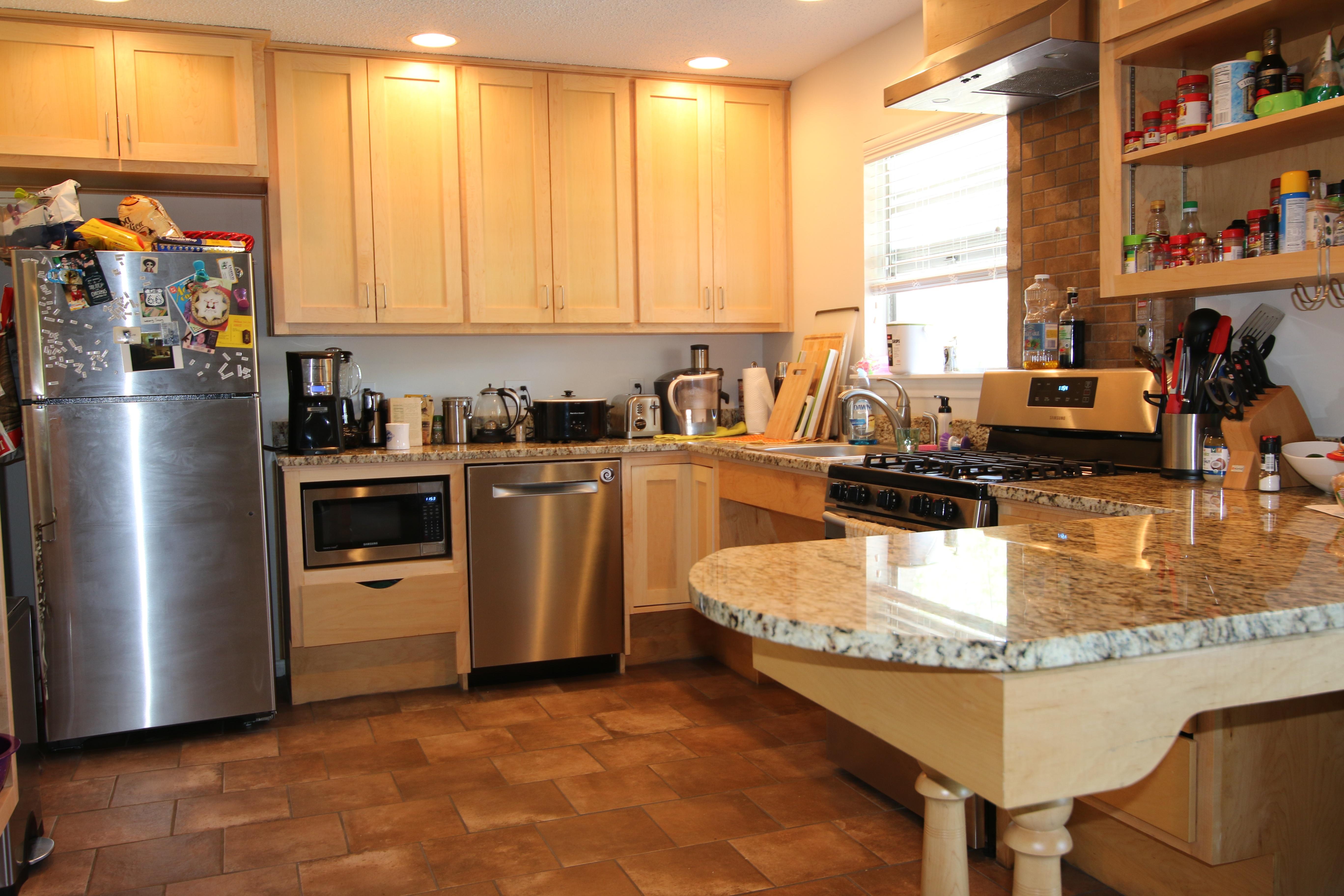 Austin wheelchair accessible kitchens