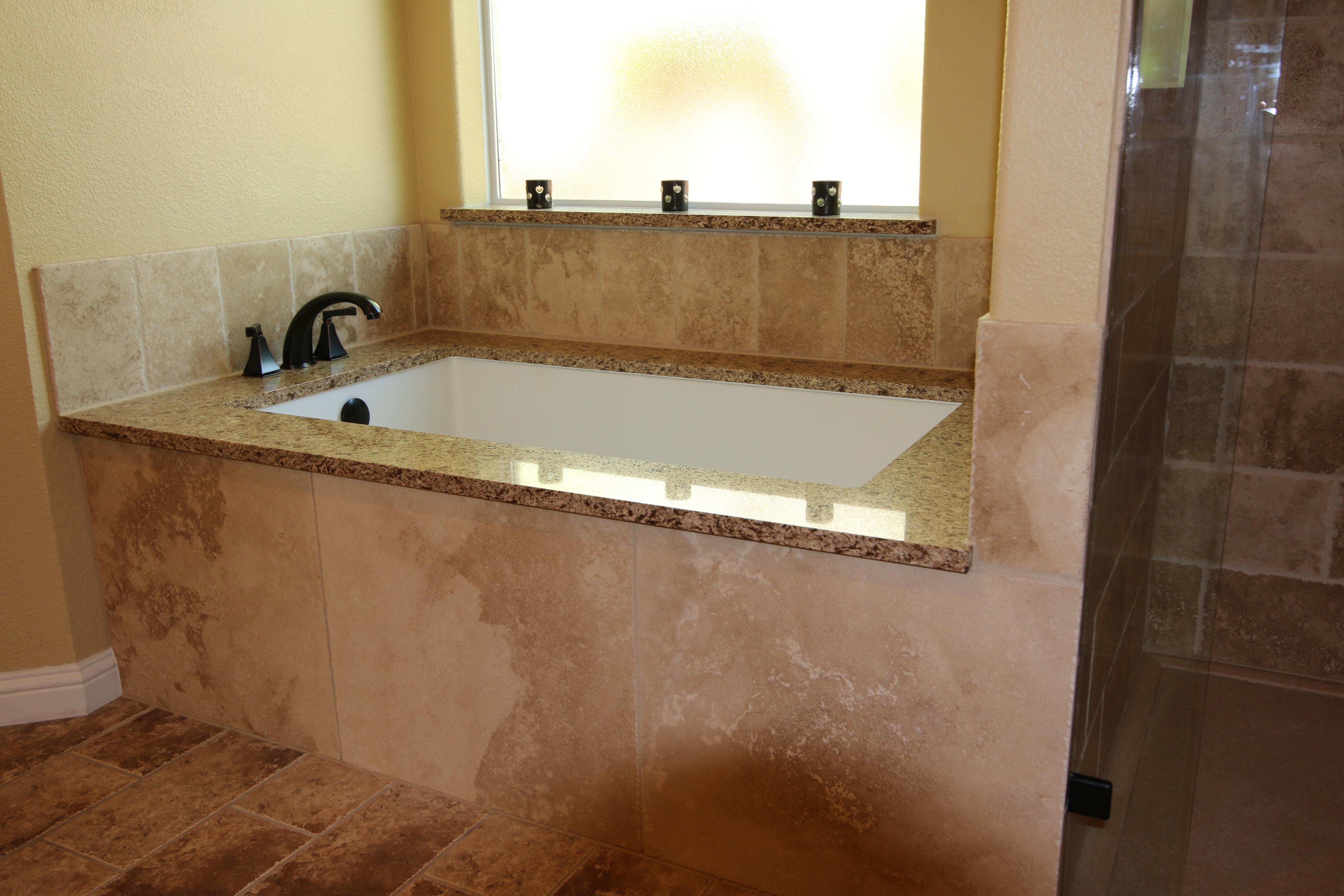 Custom tub shower conversion Austin, Texas