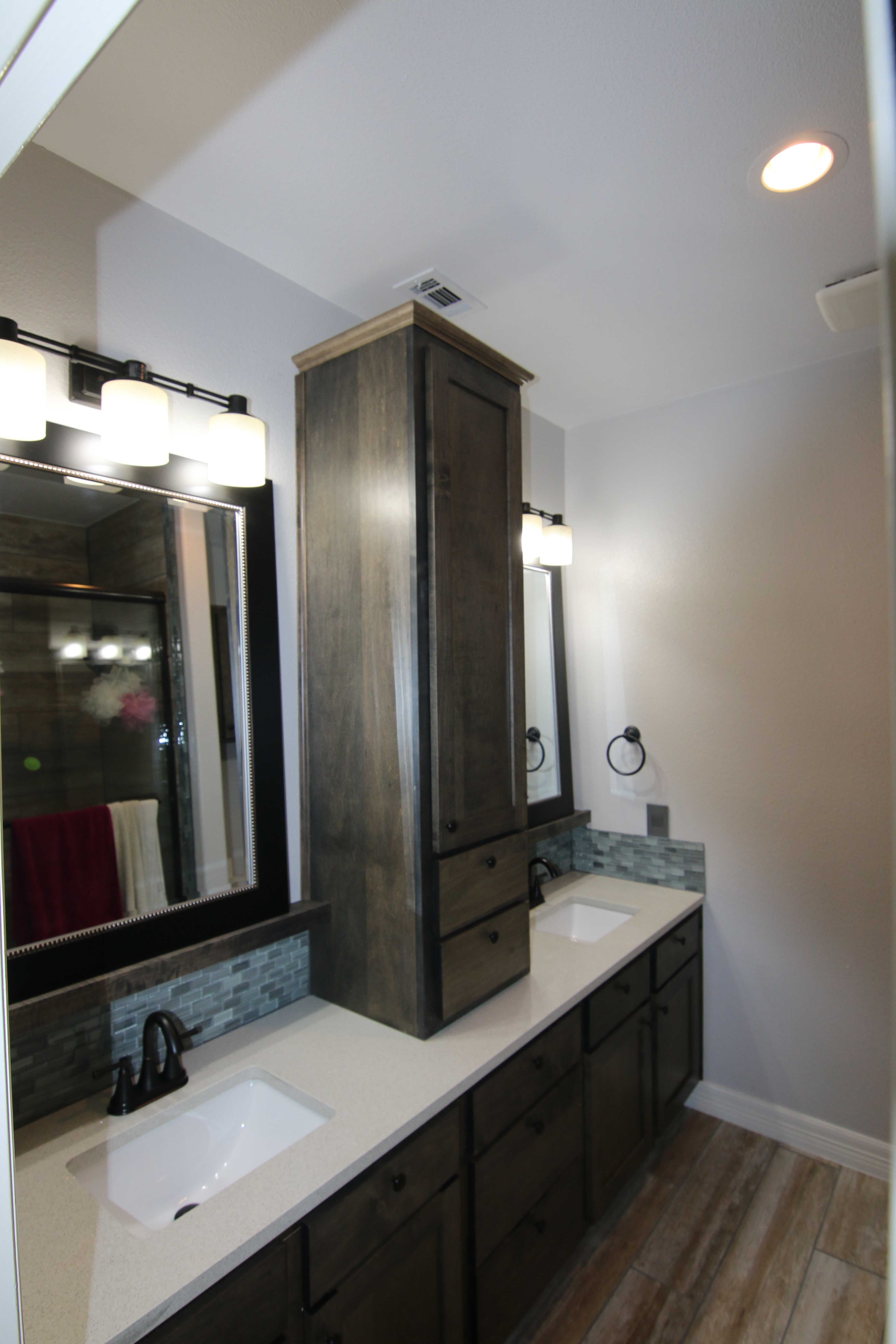 Fine bathroom cabinetry in Austin