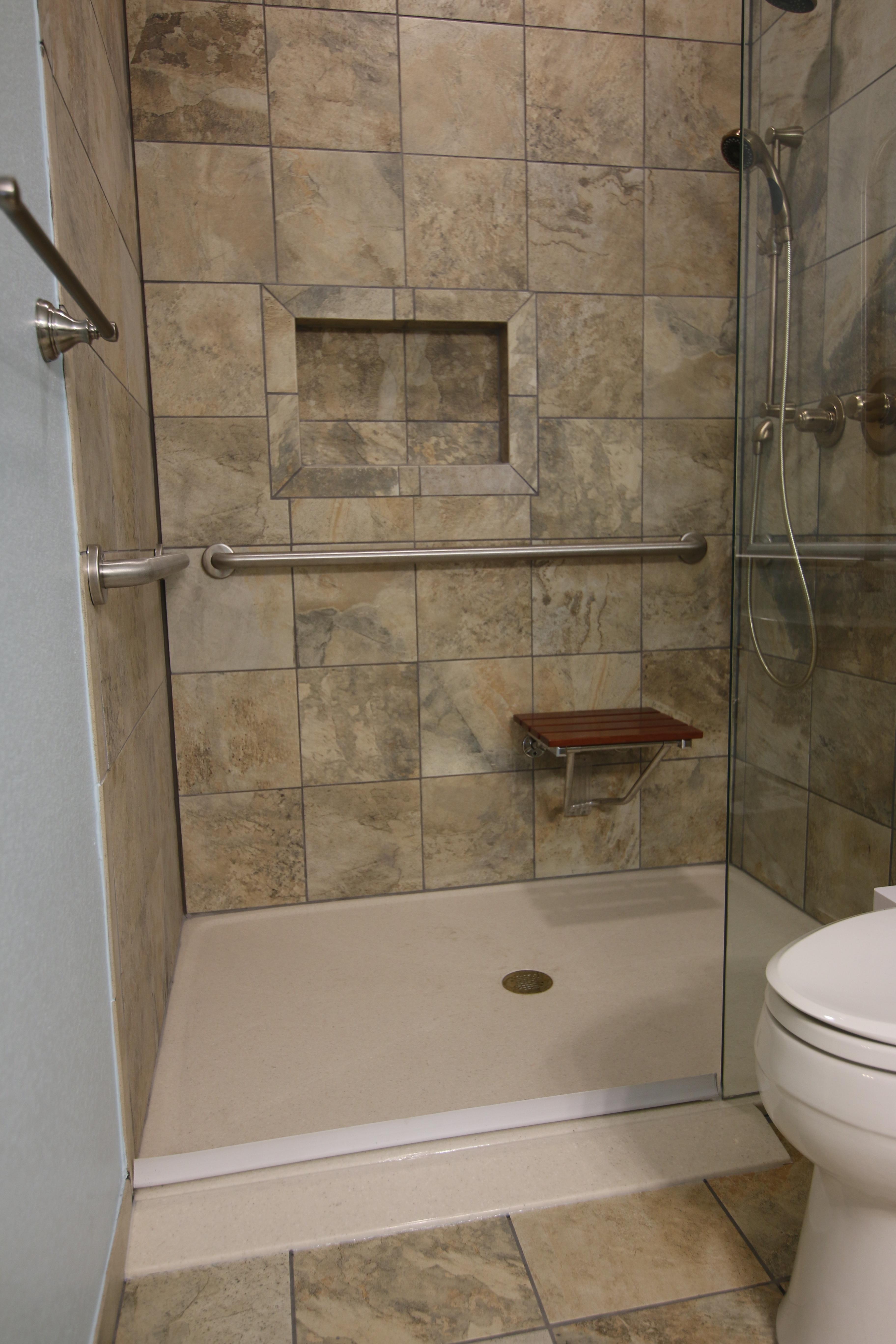 ADA Compatible Shower